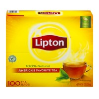 Lipton Tea Bags 100% Natural