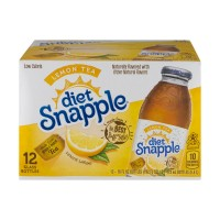 Snapple Lemon Iced Tea Diet - 12 pk