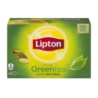 Lipton Pure Green Tea Bags 100% Natural