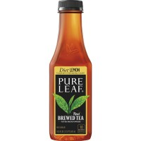Pure Leaf All Natural Real Lemon Brewed Tea Diet