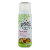 Nature's Promise Organic Cooking Spray Canola Oil No-Stick