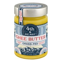 4th & Heart Ghee Butter with Himalayan Pink Salt Grass-Fed