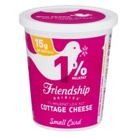 Friendship Dairies Cottage Cheese 1% Low Fat