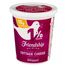 Friendship Dairies Cottage Cheese Whipped 1% Low Fat
