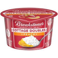 Breakstone's Cottage Cheese Doubles Peach 2% Low Fat