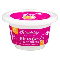 Friendship Dairies Cottage Cheese Small Curd 1% Low Fat Pineapple