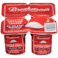 Breakstone's Cottage Cheese Small Curd 4% - 4 pk