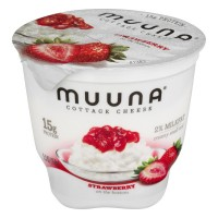 Muuna 2% Cottage Cheese Strawberry