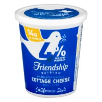 Friendship Dairies Cottage Cheese Small Curd California Style 4 % Milkfat