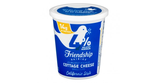 Strange Friendship Dairies Cottage Cheese Small Curd California Style 4 Milkfat Home Interior And Landscaping Fragforummapetitesourisinfo