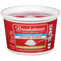 Breakstone's Cottage Cheese Small Curd 2% Milkfat Low Fat 30% Less Sodium