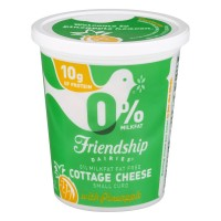 Friendship Dairies Cottage Cheese Small Curd with Pineapple Non Fat