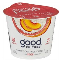 Good Culture Cottage Cheese Peach