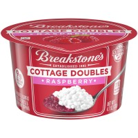 Breakstone's Cottage Cheese Doubles Raspberry 2% Low Fat