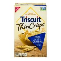 Nabisco Triscuit Thin Crisps Whole Grain Wheat Crackers Original