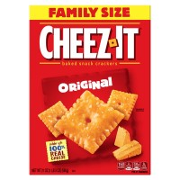 Cheez-It Baked Snack Crackers Original Family Size
