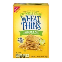 Nabisco Wheat Thins Crackers Reduced Fat