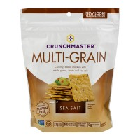 Crunchmaster Multigrain Crackers Sea Salt Gluten Free