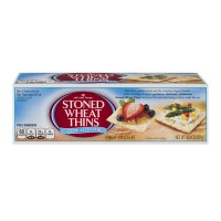 Red Oval Farms Stoned Wheat Thins Crackers Lower Sodium