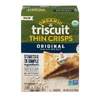 Nabisco Triscuit Thin Crisps Crackers Original Organic
