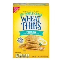 Nabisco Wheat Thins Crackers Ranch