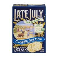 Late July Crackers Classic Saltine Organic