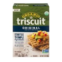 Nabisco Triscuit Crackers Original Organic