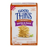Nabisco GOOD THiNS The Chickpea One Garlic & Herb