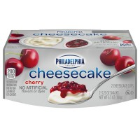 Philadelphia Cheesecake Cups Cherry - 2 ct