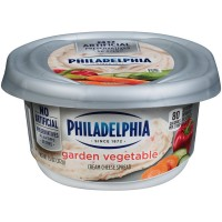 Philadelphia Cream Cheese Spread Garden Vegetable