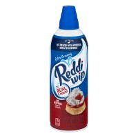 Reddi Wip Dairy Whipped Topping Extra Creamy Aerosol Refrigerated