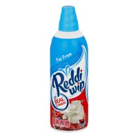 Reddi Wip Dairy Whipped Topping Fat Free Aerosol Refrigerated