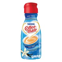 Nestle Coffee-mate Liquid Coffee Creamer French Vanilla Fat Free Refrig