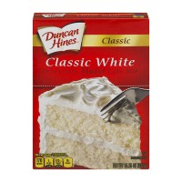 Duncan Hines Classic Cake Mix White