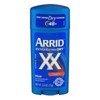 Arrid Extra Extra Dry XX Antiperspirant Deodorant Regular Solid