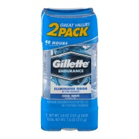 Gillette Clear Gel Antiperspirant Deodorant Cool Wave 3.8 oz each - 2 pk