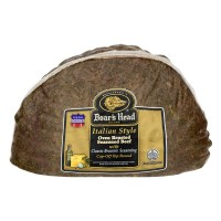 Boar's Head Deli Beef Oven Roasted Italian Style Seasoned (Thin Sliced)