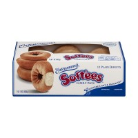 Entenmann's Soft'ees Donuts Plain Family Pack - 12 ct