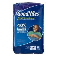 GoodNites L/XL Bedtime Underwear Boys 60-125 lbs