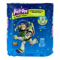 Huggies Pull-Ups Night Time 3T-4T Training Pants Boys 32-40 lbs