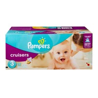 Pampers Cruisers Size 3 Diapers 16-28 lbs Super Pack