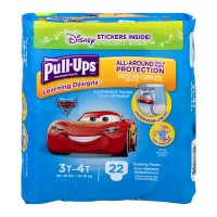 Huggies Pull-Ups Learning Designs 3T-4T Training Pants Boys 32-40 lbs