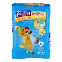 Huggies Pull-Ups Learning Designs 4T-5T Training Pants Boys 38-50 lbs