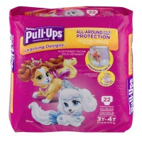 Huggies Pull-Ups Learning Designs 3T-4T Training Pants Girls 32-40 lbs