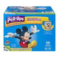 Huggies Pull-Ups Training Pants Learning Designs 4T-5T 38-50 lbs