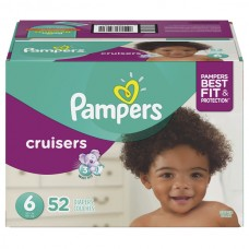 Pampers Cruisers Size 6 Diapers 35+ lbs Super Pack