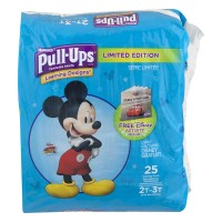 Huggies Pull-Ups Learning Designs 2T-3T Training Pants Boys 18-34 lbs