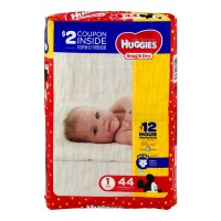 Huggies Snug & Dry Size 1 Diapers 8-14 lbs Jumbo Pack