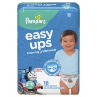 Pampers Easy Ups 4T-5T Training Pants Boys 35+ lbs Jumbo Pack