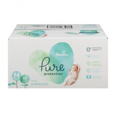 Pampers Pure Protection Size Newborn Diapers Up to 10 lbs Super Pack
